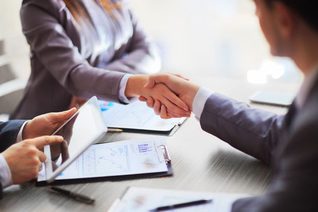 Vertragsverhandlungen, Verträge, Kaufvertrag, Werkvertrag, Auftrag, Mahnung, Betreibung, Prozessführung, Vergleich