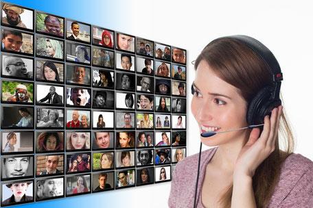 Webinare kommunizieren