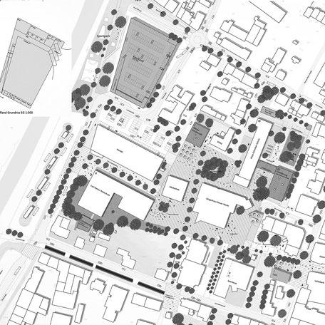 1. Preis: PLAN 7 Architekten, Stuttgart