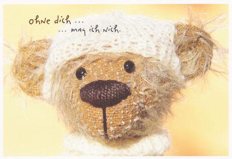Blog, Versandreinigung, Dankschreiben Bild von Teddybär