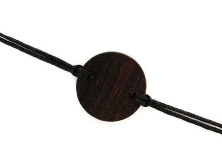 Armband Armbändchen Ebenholz schwarz Leni
