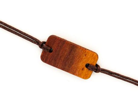 Armband Armbändchen Zwetschkenholz Hannah
