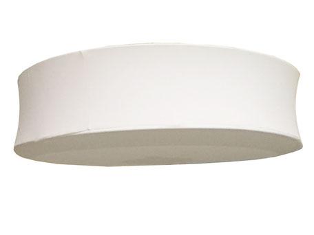 Lámpara de techo redonda gris