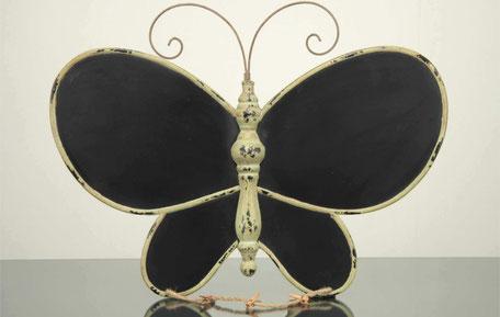 Cuadro de mariposa negra