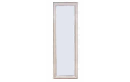 Espejo rectangular lacado en blanco