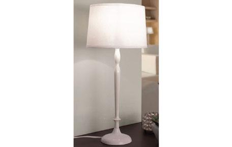 Lámpara sobremesa blanca Slim Bianca