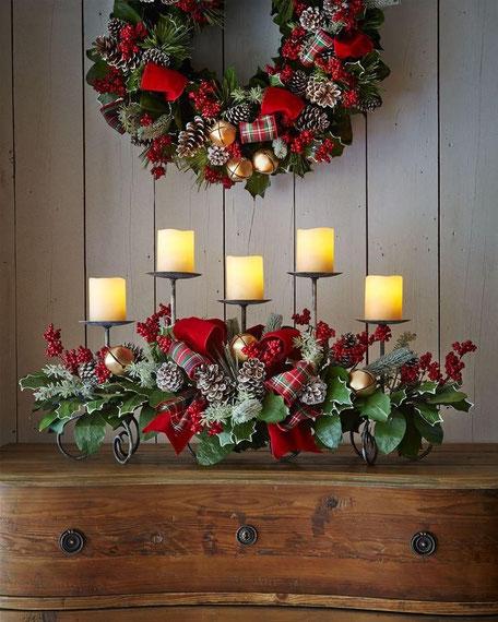 Centro Navidad, mesa,