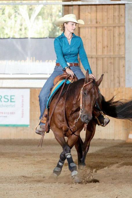 Sophia Lindinger-Pesendorfer und Cosmic Lucy holten vier Platzierungen in Groß Enzersdorf, darunter einen Sieg. Foto: CK Photograhics