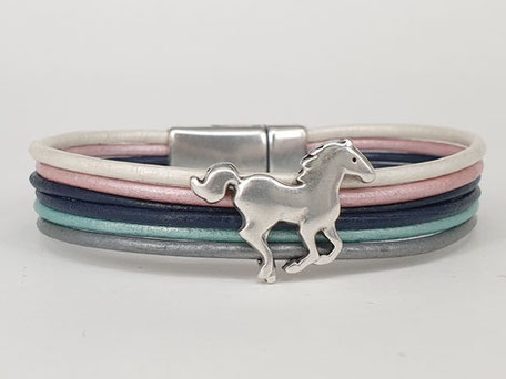 Armbänder für Jungen, Armbänder für Mädchen, Geschenkidee für Mädchen, Ponnyarmband, Pferdearmband, Fußballarmband, Haifisch-Armband, Cooles Armband, Schmuck für Kinder, Lederarmband
