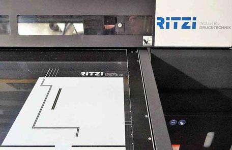 Frontfolie im Digitaldruck