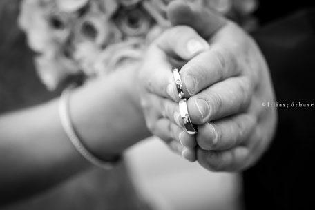 Hochzeit, Paarshooting, Brautpaar, liliaspoerhase, Lilia Spörhase, Fotografie, Planten un Blomen, Hamburg, Rings