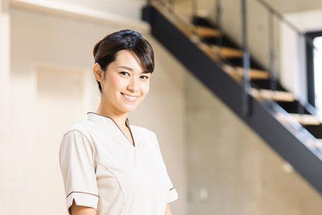 微笑む看護師のイメージ