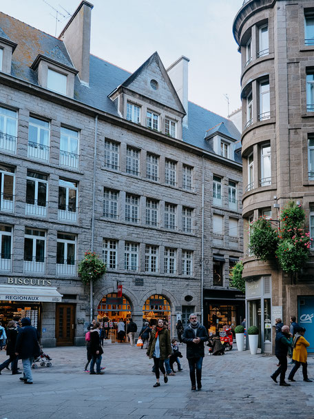 City Center, Old Town, Saint-Malo, Bretagne, Brittany