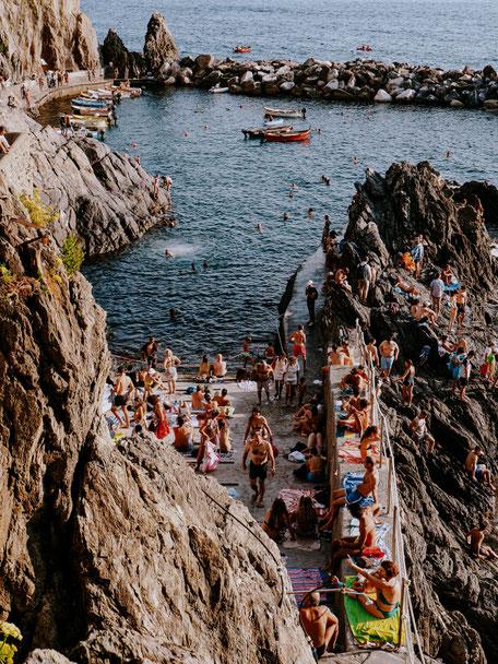 Manarola, Marina, Cinque Terre, Liguria, Italy