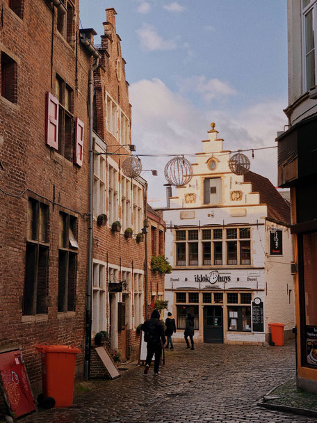 A pretty little street in Ghent