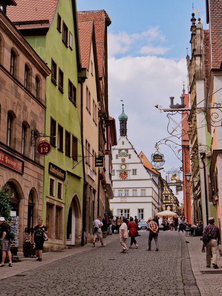 Main Street in Rothenburg