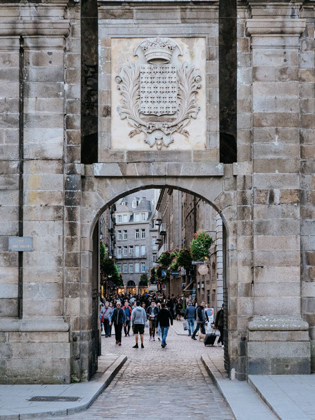 Porte Saint-Vincent, Ramparts, Saint-Malo, Bretagne, Brittany