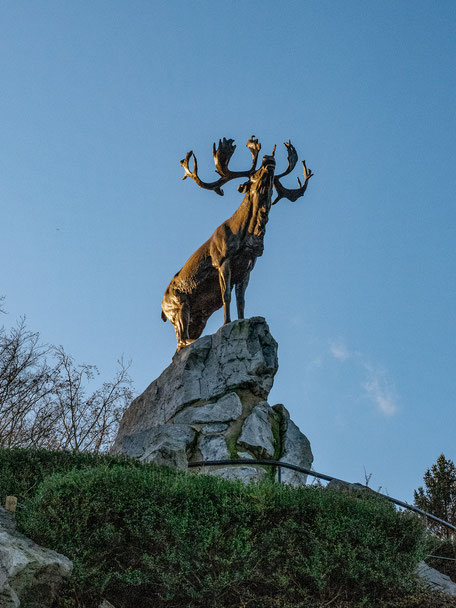 Caribou Monument in Beaumont-Hamel Newfoundland Memorial (WWI Somme Battlefields)