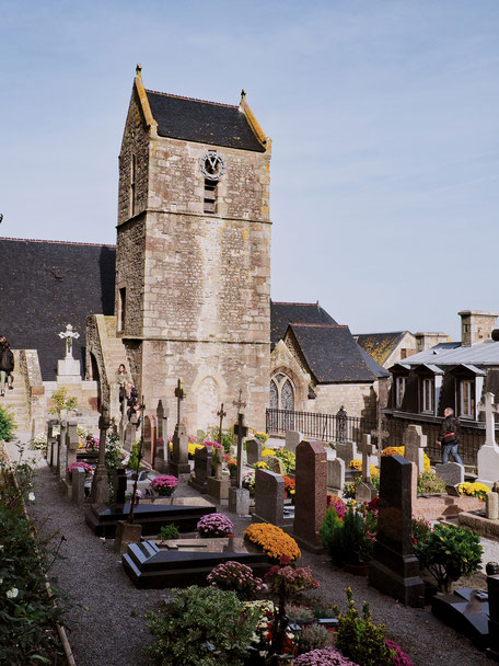 Cemetery, Cimetière, Mont-Saint-Michel, Baie du Mont-Saint-Michel