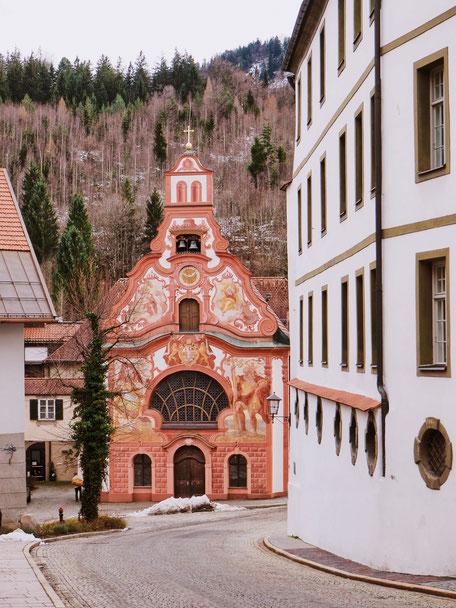 Church of the Holy Spirit in Füssen (Bavaria)