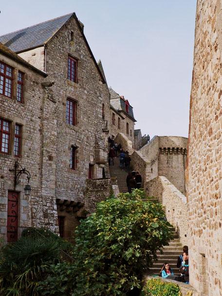 Ramparts, Mont-Saint-Michel, Baie du Mont-Saint-Michel