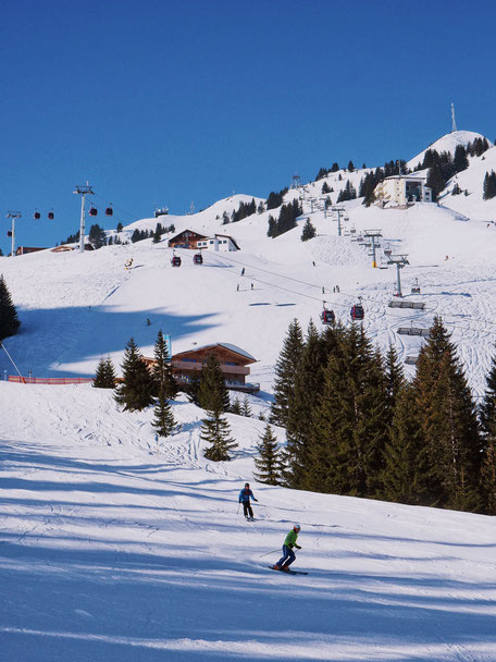 One of the slopes