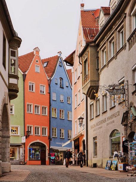 Hutergasse in Füssen (Bavaria)