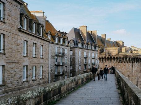 Ramparts, Porte de Dinan, Saint-Malo, Bretagne, Brittany
