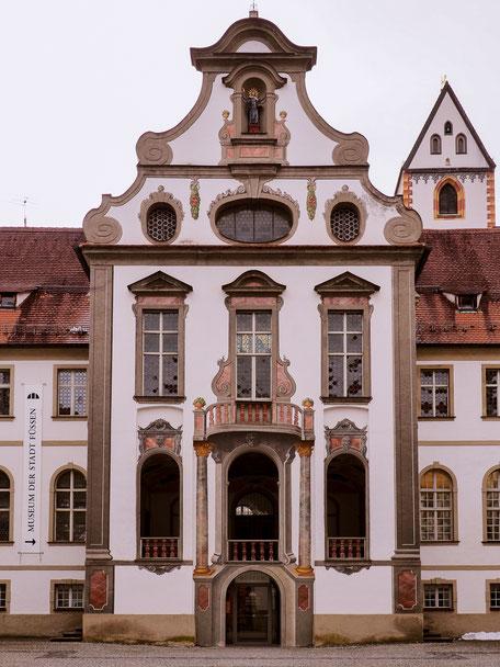 Saint-Mang Monastery in Füssen (Bavaria)