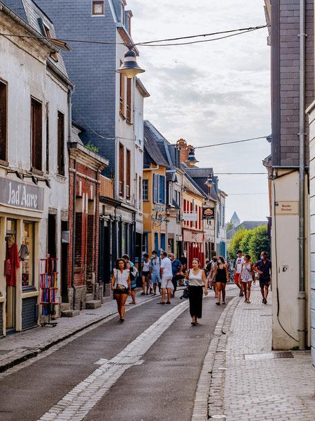 Rue de la Ferté - Saint-Valéry's main street
