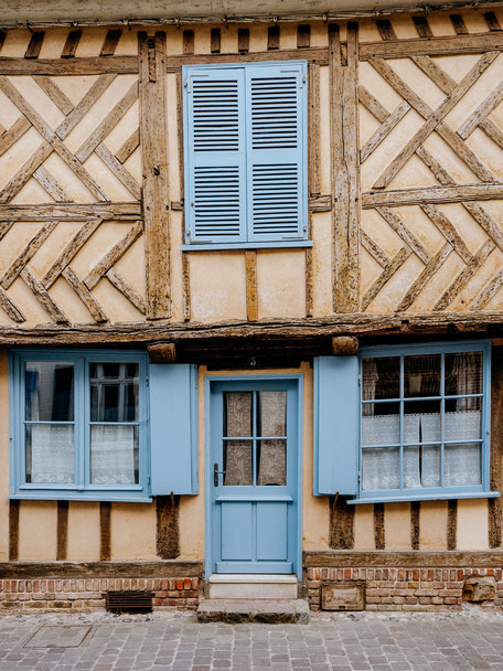 Beautiful timbered façade