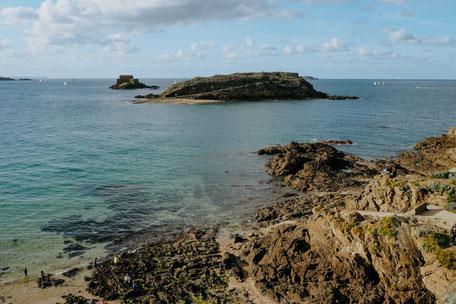 Saint-Malo, Grand Bé, Bretagne, Brittany