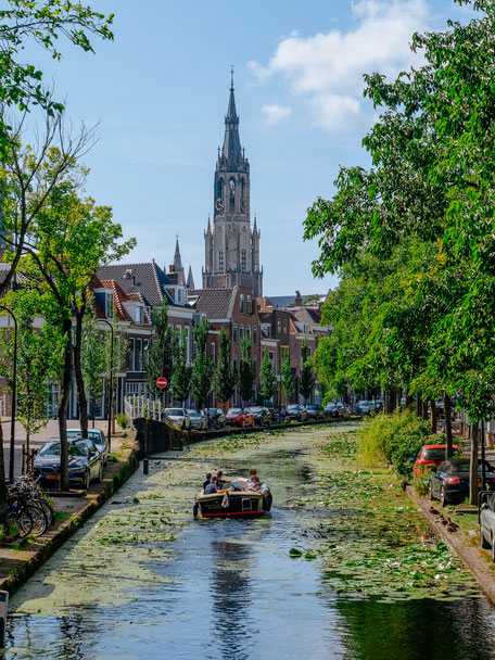 Oosteinde, Delft, Canal