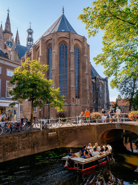 Oude Kerk, Old Church, Delft