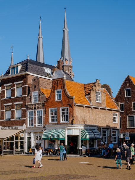 Markt, Houses, Architecture, Delft