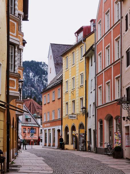 Brunnengasse in Füssen (Bavaria)