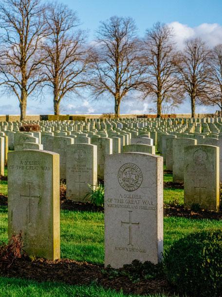 Serre Road Cemetery No 2 (WWI Somme Battlefields)