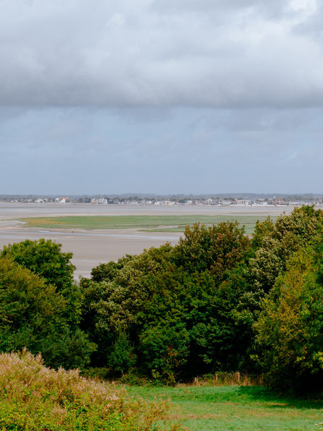 Panoramic view of Le Crotoy
