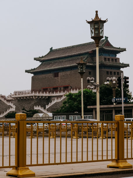 Another view of Zhengyang Gate