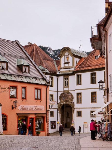 Brotmarkt in Füssen (Bavaria)