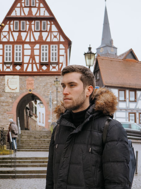 Oberursel, Rathaus, Taunus, Frankfurt, Taunus Nature Park, Winter, Snow