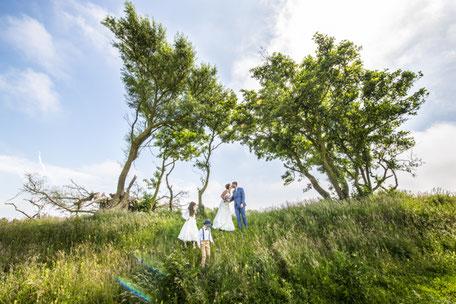 Trouwfotografie bruidspaar trouwlocatie Gasterij Nieuw Westert Egmond