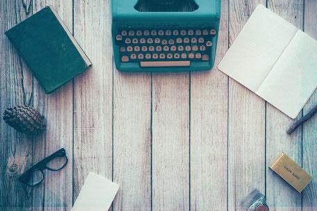 Schreibmaschine, Blog, Schreiben