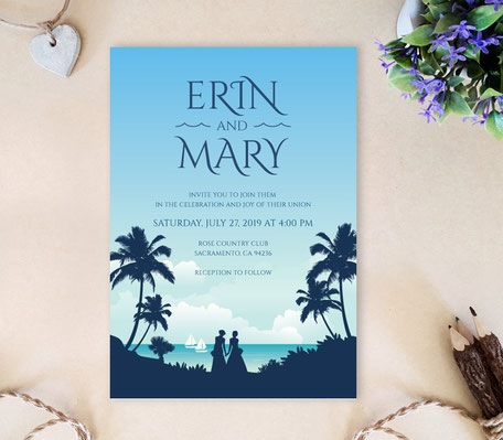 Palm Beach Lesbian Invitations