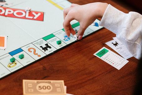 Brettspiel Party Monopoly spielen