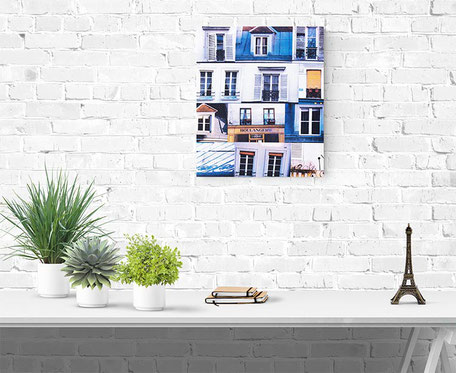 paris photograph canvas interior wall decor