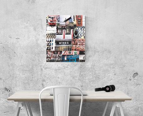 new york wall canvas interior design