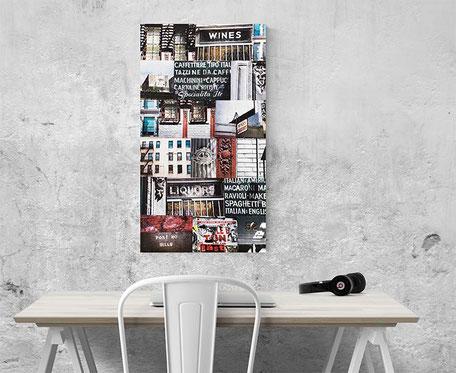 new york interior design canvas wall decor