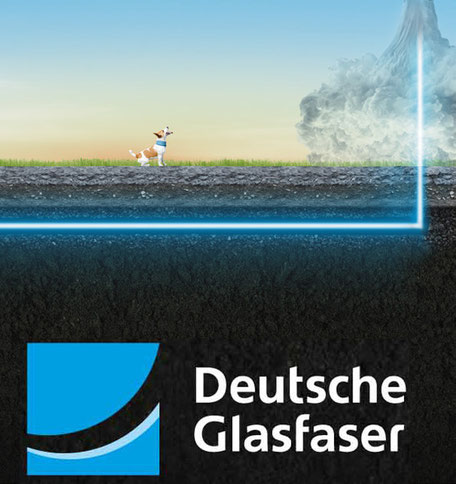 Deutsche Glasfaser in Milte