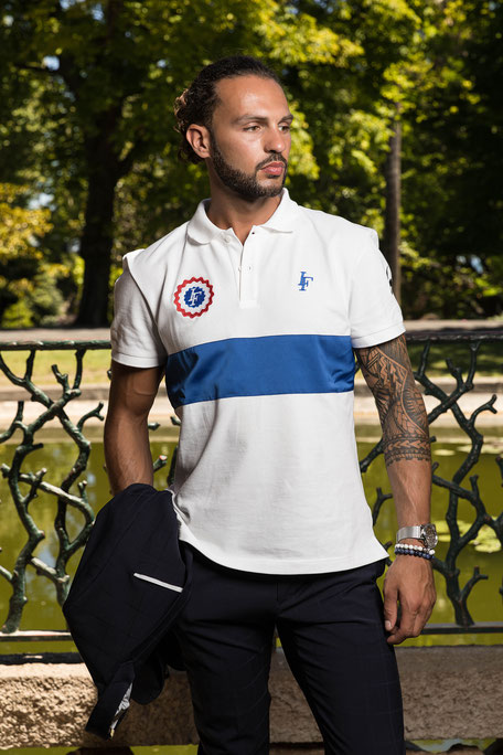 Polo Monarque Homme Made in France 100% coton